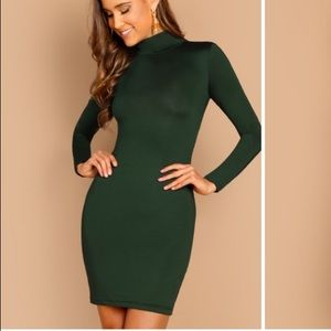Green holiday dress size Medium